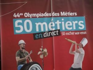 Olympiades des métiers 3e